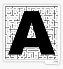 A-Maze-ing Sticker