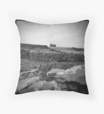 Mansion on the hill Throw Pillow