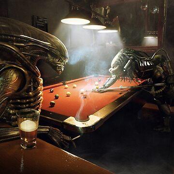 Alien vs Predator Pool by webso