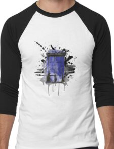 Time and Space Men's Baseball ¾ T-Shirt
