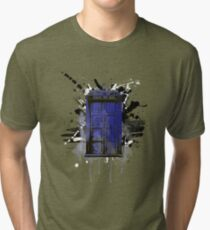 Time and Space Tri-blend T-Shirt