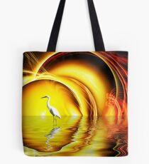 Egret's Egress Tote Bag