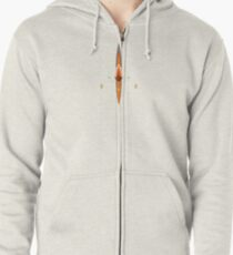 The Serenity of Sculling Zipped Hoodie