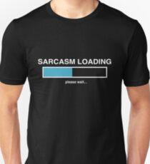Camiseta ajustada Carga de sarcasmo