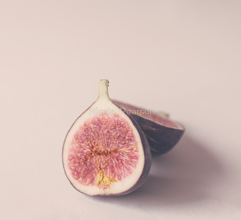 Pastel Figs by Nicola  Pearson