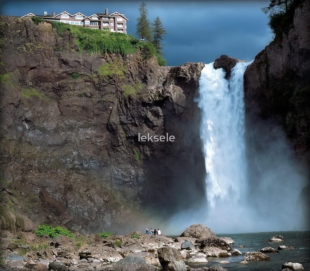 Snoqualmie Falls Washington by leksele