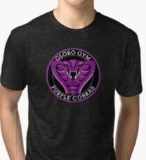 Globo Gym Purple Cobras Tri-blend T-Shirt