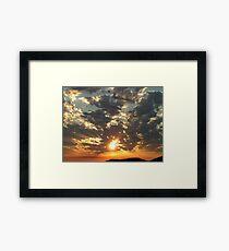 Sunrise on the Inlet Framed Print