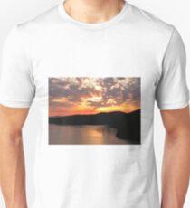 Sunrise Over Saanich Inlet T-Shirt
