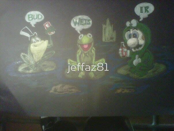 famous frogs by jeffaz81