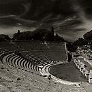 Ostia theatro by Ranald