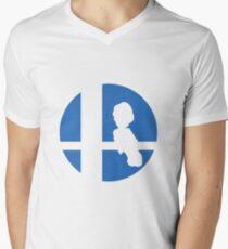 Luigi - Super Smash Bros. Men's V-Neck T-Shirt