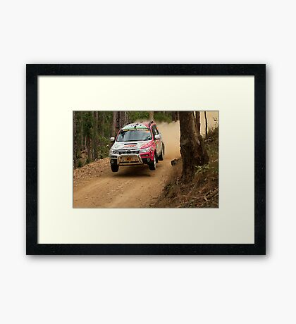 A Forester In The Forest Framed Print