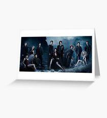 Vampire Diaries Season 5 Cast Greeting Card