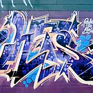 Abstract Graffiti Art fragment  by yurix