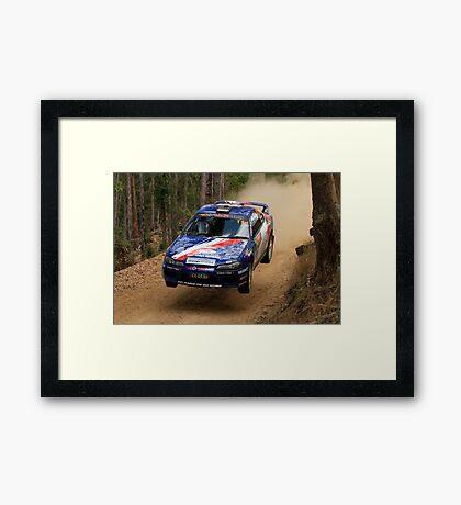 Jumpin Jack Monkhouse Rally Australia 2013 Framed Print