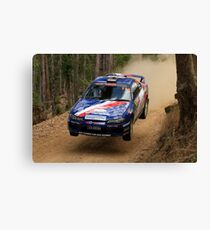 Jumpin Jack Monkhouse Rally Australia 2013 Canvas Print