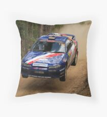Jumpin Jack Monkhouse Rally Australia 2013 Throw Pillow