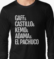 Gaff & Castillo & Kemo & Adama & El Pachuco - Dark Long Sleeve T-Shirt