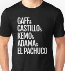 Gaff & Castillo & Kemo & Adama & El Pachuco - Dark T-Shirt