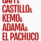 Gaff & Castillo & Kemo & Adama & El Pachuco - Red by olmosperfect