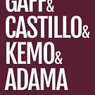 Gaff & Castillo & Kemo & Adama - Dark by olmosperfect
