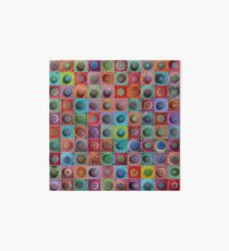 Jewel Drop Mandala Mosaic Art Board
