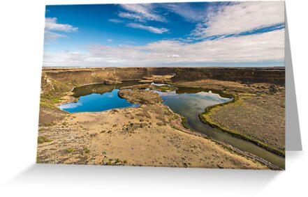 Dry Falls, Washington State by Jim Stiles