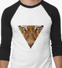 Animal Art - Tiger Men's Baseball ¾ T-Shirt