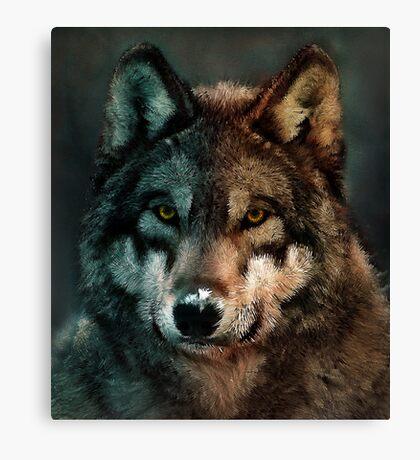 Animal Art - Wolf Canvas Print