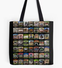 """""""American Salticids"""" Jumping Spider Poster Tote Bag"""