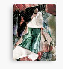Slender Scraps Canvas Print