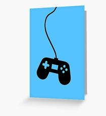 VideoGame Control  Greeting Card