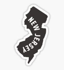 New Jersey - My home state Sticker
