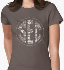 SEC with Logos Women's Fitted T-Shirt