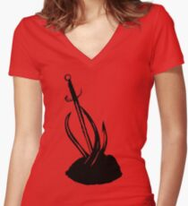 Solace Women's Fitted V-Neck T-Shirt