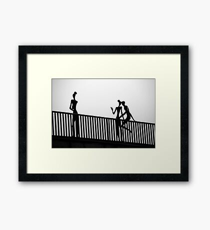 The jealous one Framed Print