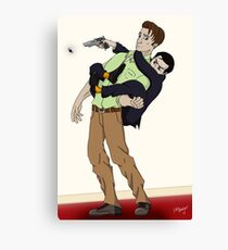 Kill it! Canvas Print