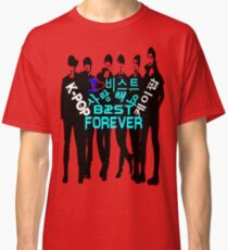 ♥♫I Love B2ST Forever Splendiferous K-Pop Clothes & Stickers♪♥ Classic T-Shirt