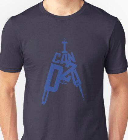 I Can Do Zat! (Blue, Big) T-Shirt