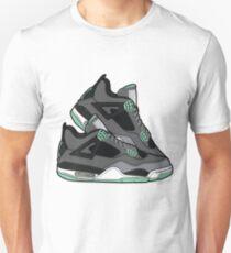 Air Jordan 4 ( Green Glows!) T-Shirt