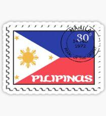 Philippines Stamp Sticker