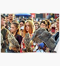 Owl Tamers Poster
