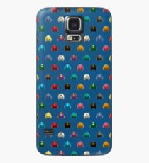 Cool Colorful Megaman Helmet Pattern Case/Skin for Samsung Galaxy