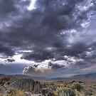 High Desert Lighting Fires by SB  Sullivan