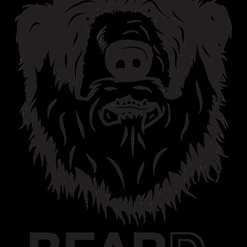 Bear Beard. by pointandthread
