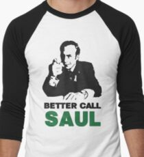 Better Call Saul (Red/Yellow) Men's Baseball ¾ T-Shirt