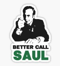 Better Call Saul (Red/Yellow) Sticker