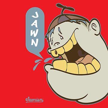 Timmy Yelling Jawn Graffiti Character by Jawnism