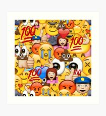 Emoji Wall Art ok emoji: wall art | redbubble